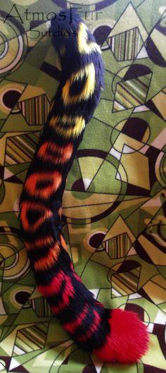 Fire Leopard Tail - FOR SALE by ~AtmosFur