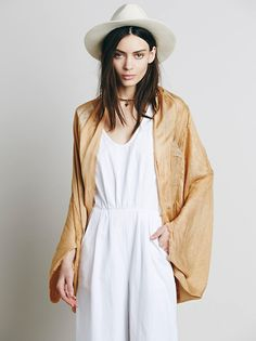 Free People Cocoon Wrap Kimono at Free People Clothing Boutique