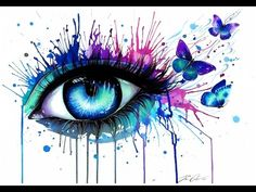 Are you looking for Fantasy Paint By Number Kits? You'll find plenty of beautiful paint by number kits of fantasy art. These make beautiful gifts for anyone who enjoys painting PBN kits as a hobby. Painting For Kids, Oil Painting On Canvas, Painting & Drawing, Canvas Art, Drawing Room, Watercolor Eyes, Watercolor Tattoo, Watercolor Painting, Realistic Eye Drawing