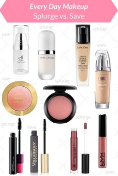 Splurge or Save? Top pics on the best beauty products for any budget.   http://www.hungrymeetshealthy.com/splurge-save-favorite-beauty-products/
