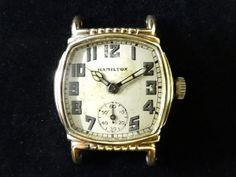 Hamilton 40 HAMILTON Cal 987F Watch Antique