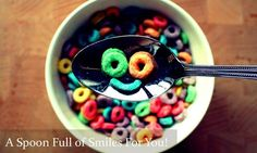 A SPOON FULL OF SMILES FOR YOU!  #Smiles #Happy #Good morning