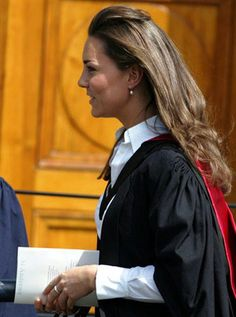 6.23.2005: Kate Middleton's graduation from St. Andrews in Scotland.