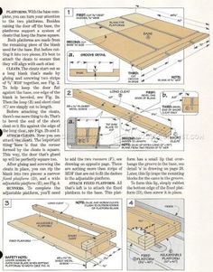 #1620 Frame and Panel Gluing Up Jig - Cabinet Door Construction