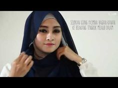 Hijab Tutorial Tanpa Peniti - YouTube