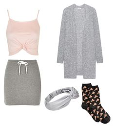 """""""Untitled #125"""" by jazzi-banks ❤ liked on Polyvore featuring River Island, Topshop, Acne Studios and HOT SOX"""