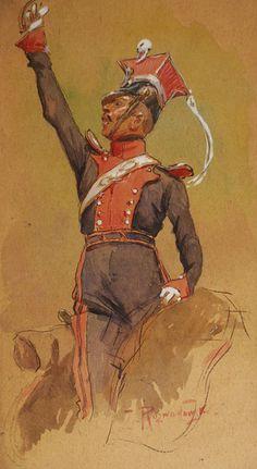 Oficer 1 pułku ułanów-Zygmunt Rozwadowski