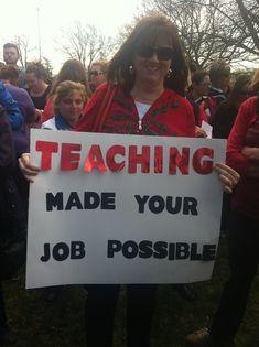 16 Teacher Walkout Ideas Protest Signs Teacher Teachers Strike