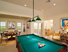 Exclusive Resorts at The Abaco Club, Billiard Room