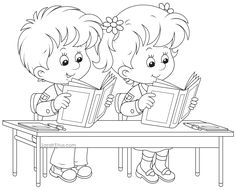 Back to School Coloring Pages - Sarah Titus                                                                                                                                                                                 More