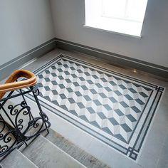 Merola Tile Twenties Frame 7-3/4 in. x 7-3/4 in. Ceramic Floor and Wall Tile-FRC8TWEF - The Home Depot