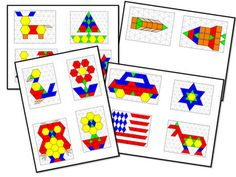 Mrs. Wills Kindergarten: FREEBIE pattern blocks printables