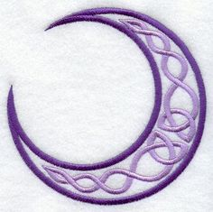 Celtic Knot Crescent Moon Tattoo celtic moon skylarastinfan.com
