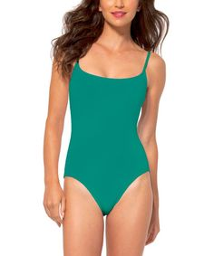 Look what I found on #zulily! Peacock One-Piece - Women #zulilyfinds