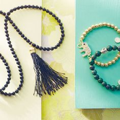 Add a boho touch to your look with free-spirited jewelry.