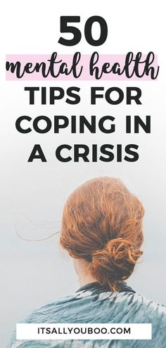 Are you completely stressed out right now? Need to learn coping skills and strategies? You're NOT the only one! Click here for 50 mental health tips for coping in a crisis from top experts. You can find peace of mind and calm during difficult times, like the pandemic. #CopingSkills #MentalHealth #MentalHealthTips #MentalStress #MentalWellness #SocialDistance #StaySane #Anxiety #Depression #Wellness #Mindfulness #StressRelief #ItsAllYouBoo #StuckAtHome #StayCalm #StuckInside #StayAtHome Mental And Emotional Health, Mental Health Quotes, Good Mental Health, Mental Health Awareness, Deal With Anxiety, Stress And Anxiety, Coaching, Negative Emotions, Anxiety Relief