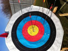 Bang in the centre at 70 yards. Doesn't get any better :)