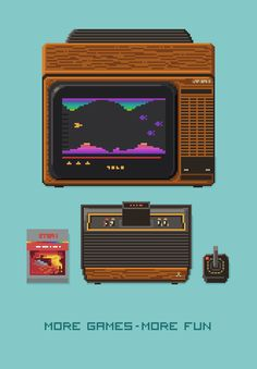 retronator:  A great lineup of pixel art computers and video game consoles by Mazeon.