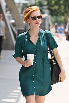 How Cool is Jessica Chastain's Short Hair?!