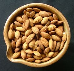 #Almonds are considered the nut with the most #nutrients, when compared ounce per ounce or calorie per #calorie