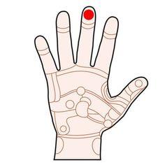 Genom att trycka eller stimulera olika punkter i handen kan du påverka olika organ i kroppen.