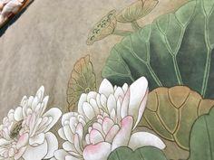 [민화]공필화 연화도 연꽃바림 연잎바림 팝페인터 피오니그림방 : 네이버 블로그 Plants, Paintings, Design, Paint, Painting Art, Plant, Painting, Painted Canvas