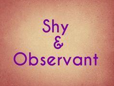 I got: Shy