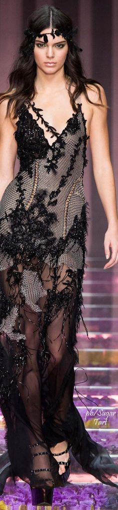 Lifestyle of a Bachelorette **Atelier Versace Fall 2015