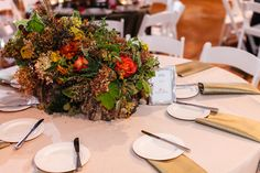 Woodland Centerpiece  www.significanteventsoftexas.com Fall Wedding Colors, Green Wedding, Autumn Inspiration, Wedding Inspiration, Enchanted Forest Prom, Centerpieces, Table Decorations, Woodland, Table Settings