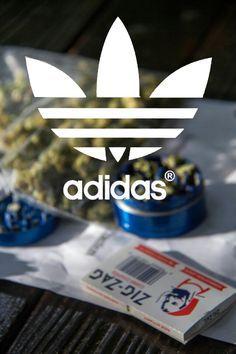 Adidas weed style