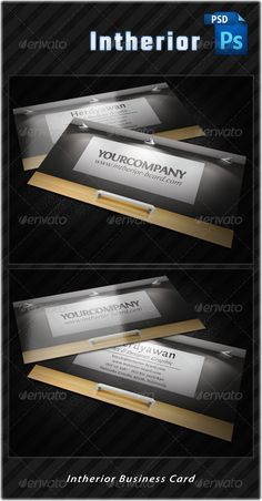 """Intherior Business Card  #GraphicRiver         Intherior Business Card   Font used:  .exljbris /fontin.html    CMYK Print Ready 3.5×2"""" 300 DPI     Layered Photoshop files Well organized layer sets Horizontal style Text editable       Created: 3January12 GraphicsFilesIncluded: PhotoshopPSD Layered: Yes MinimumAdobeCSVersion: CS Tags: biz #bizcard #business #businesscard #card #company #corporate #creative #creativedesign #design #elegant #intherior.interior #lamp #light #modern #photoshop…"""