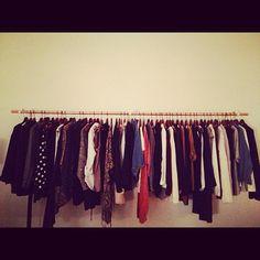 love my new #diy #wardrobe