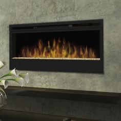 Dimplex Synergy Wall Mounted Electric Fireplace BLF50