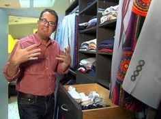 Great tips in this video from Organizing Peter Walsh's Own Home Organization Quotes, Home Organization Hacks, Organizing Tips, Organising, Downsizing Tips, Junk Drawer Organizing, Peter Walsh, Clutter Control, Paper Clutter