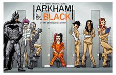 Posters Batman, Batman Art, Dc Universe, Catwoman, Harley Quinn Et Le Joker, Detective, Nananana Batman, Batman Arkham Asylum, Superhero Villains