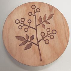 Can't find any coasters that match your decor? Design your own! #coasters #wood #custom #design