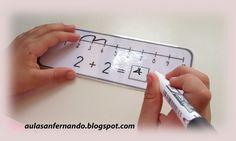 Nos abrimos al mundo: Línea numérica para sumar Sumo, Psp, Maths, Homeschooling, Manual, Harry Potter, Shape, Curves, Funny Math