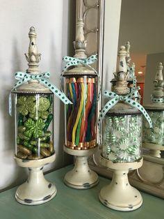St. Patrick's Day apothecary jar, decor                              …