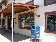 Jerome AZ Post Office Jasperado Post Office, Offices, Arizona, Outdoor Decor, Home Decor, Decoration Home, Room Decor, Desk, Home Interior Design