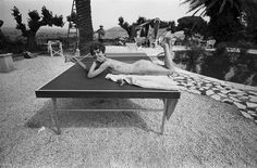 Audrey Hepburn on the set of Two for the Road in St. Tropez.