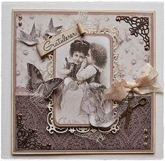 Velkommen inn: Bursdagskort til en dame:)