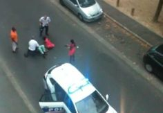 French Police Brutally Beats Black Woman, Spray Tear Gas In Her Face