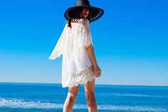 L*Space x The Style Riot Blogger Series: How We Wear It featuring the lacy Geneva cover up