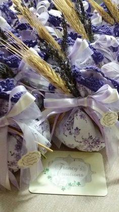 Lavender mood#sacchetti bomboniera comunione lavanda#Francy's Creations