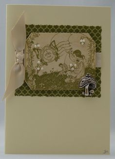 Handmade Card - Fairytales and Toadstools £2.50