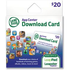 LeapFrog App Center Download Card - Walmart.com