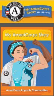 Love Rosie, Love AmeriCorps! (Proud Alum.)