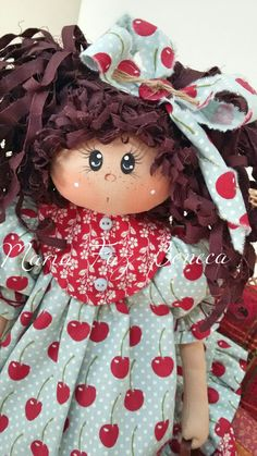 Maria Cereja  by Maria Faz Boneca