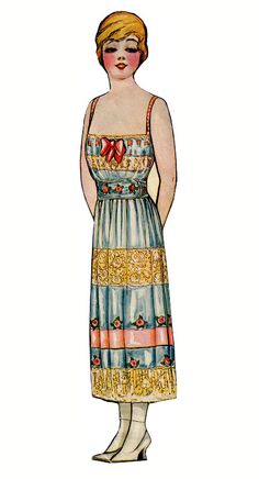Grace Drayton paper dolls,1918 Dolly dingle's mother