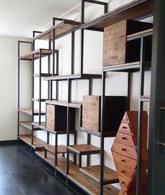 Modern Industrial, Divider, Room, Furniture, Ideas, Home Decor, Industrial Design, Bedroom, Rooms